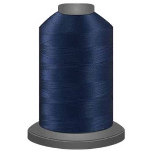 Glide - Rock Navy - 30001 - Cone - 5000 yds - Trilobal Poly No. 40 Embroidery & Quilting Thread