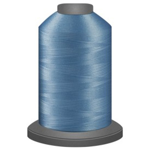 Glide - Azure - 30283 - Cone - 5000 yds - Trilobal Poly No. 40 Embroidery & Quilting Thread