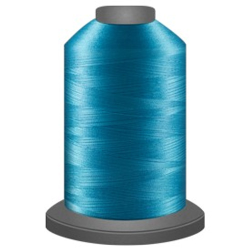 Glide - Robin Egg - 30632 - Cone - 5000 yds - Trilobal Poly No. 40 Embroidery & Quilting Thread