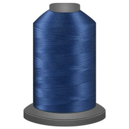 Glide - Cobalt - 30647 - Cone - 5000 yds - Trilobal Poly No. 40 Embroidery & Quilting Thread