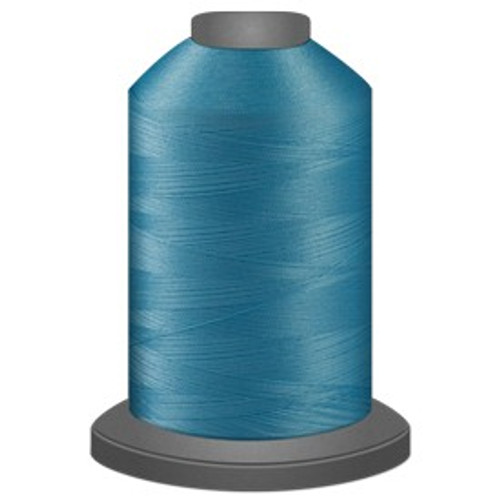 Glide - Light Turquoise - 32975 - Cone - 5000 yds - Trilobal Poly No. 40 Embroidery & Quilting Thread