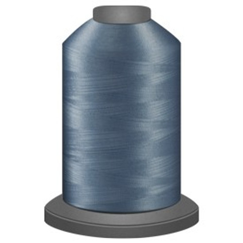 Glide - Steel Blue - 38201 - Cone - 5000 yds - Trilobal Poly No. 40 Embroidery & Quilting Thread