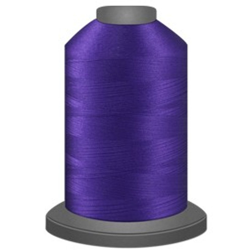 Glide - Raven - 42607 - Cone - 5000 yds - Trilobal Poly No. 40 Embroidery & Quilting Thread