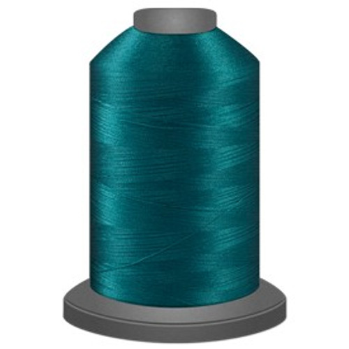 Glide - Teal - 60323 - Cone - 5000 yds - Trilobal Poly No. 40 Embroidery & Quilting Thread