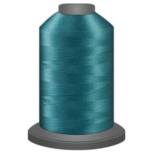 Glide - Tidewater - 65483 - Cone - 5000 yds - Trilobal Poly No. 40 Embroidery & Quilting Thread