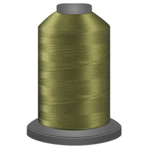 Glide - Light Olive - 65825 - Cone - 5000 yds - Trilobal Poly No. 40 Embroidery & Quilting Thread