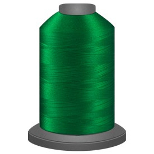 Glide - Shamrock - 67482 - Cone - 5000 yds - Trilobal Poly No. 40 Embroidery & Quilting Thread
