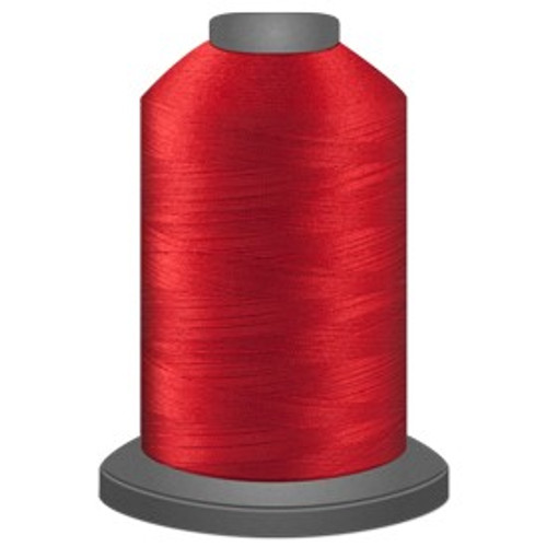 Glide - Cardinal - 70001 - Cone - 5000 yds - Trilobal Poly No. 40 Embroidery & Quilting Thread