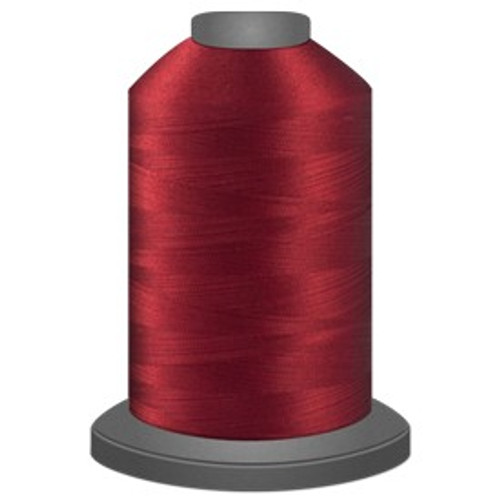 Glide - Ruby - 70187 - Cone - 5000 yds - Trilobal Poly No. 40 Embroidery & Quilting Thread