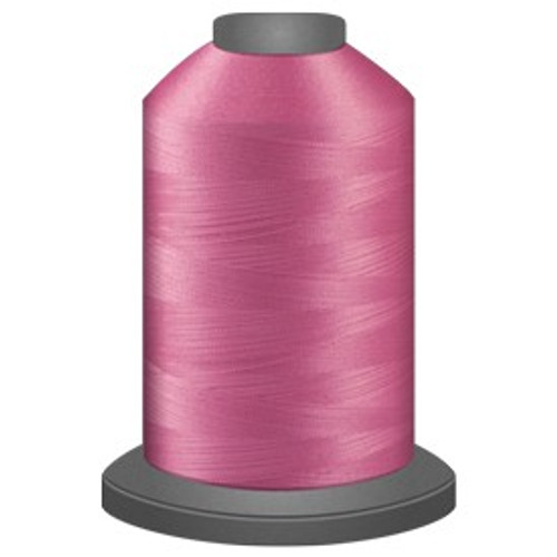 Glide - Pink - 70189 - Cone - 5000 yds - Trilobal Poly No. 40 Embroidery & Quilting Thread