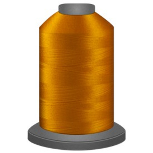 Glide - Marigold - 80130 - Cone - 5000 yds - Trilobal Poly No. 40 Embroidery & Quilting Thread