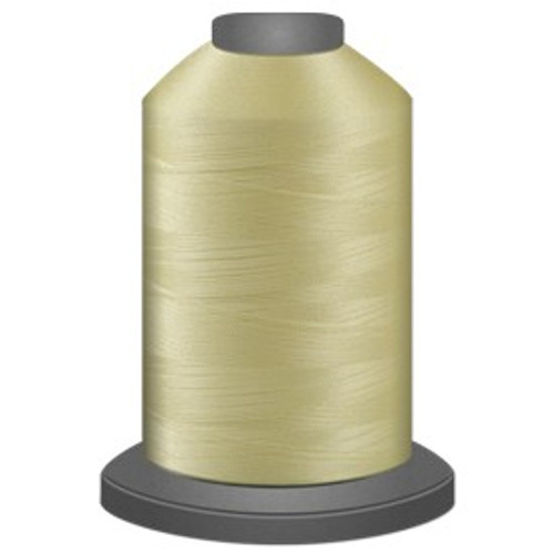 Glide - Lemon Ice - 80607 - Cone - 5000 yds - Trilobal Poly No. 40 Embroidery & Quilting Thread