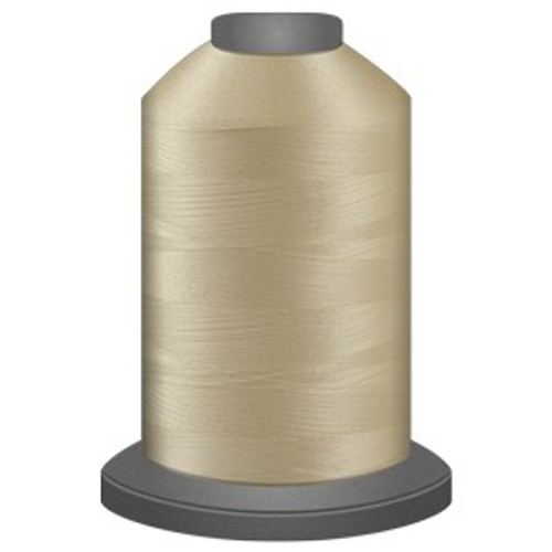 Glide - Yellow Whisper - 87499 - Cone - 5000 yds - Trilobal Poly No. 40 Embroidery & Quilting Thread