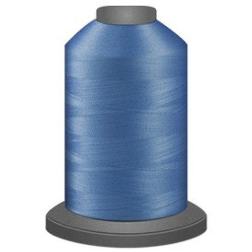 Glide - Tar Heel - 90278 - Cone - 5000 yds - Trilobal Poly No. 40 Embroidery & Quilting Thread