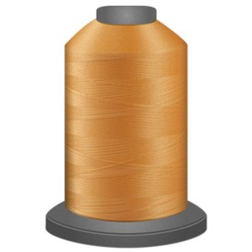 Glide - Cantaloupe - 91355 - Cone - 5000 yds - Trilobal Poly No. 40 Embroidery & Quilting Thread