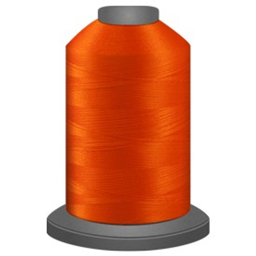 Glide - Blaze - 91505 - Cone - 5000 yds - Trilobal Poly No. 40 Embroidery & Quilting Thread