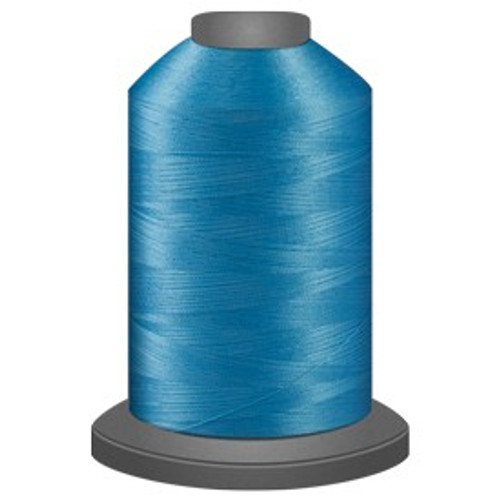 Glide - Dark Aqua - 92985 - Cone - 5000 yds - Trilobal Poly No. 40 Embroidery & Quilting Thread
