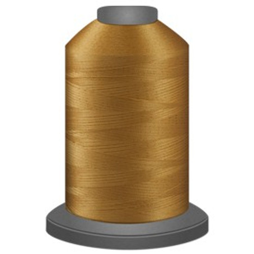 Glide - Military Gold - 27407 - Cone - 5000 yds - Trilobal Poly No. 40 Embroidery & Quilting Thread
