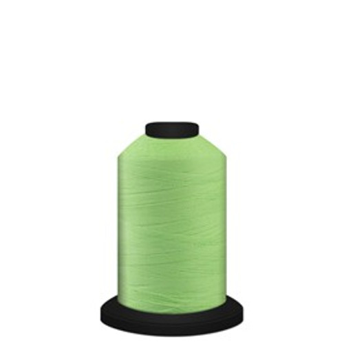 Luminary - Green - 60196 - Spool - 700 yds - Trilobal Poly No. 60 - Glow-in-the-Dark Embroidery & Quilting Thread