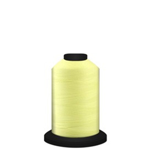 Luminary - Yellow - 60197 - Spool - 700 yds - Trilobal Poly No. 60 - Glow-in-the-Dark Embroidery & Quilting Thread