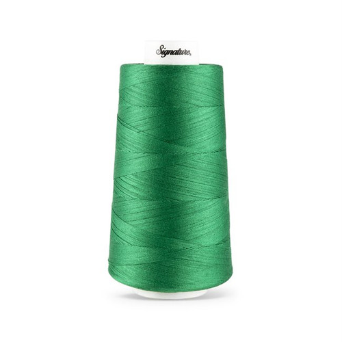 Signature40 - Bright Kelly - 535 - Cone - 3000 Yds - 100% Cotton Quilting Thread