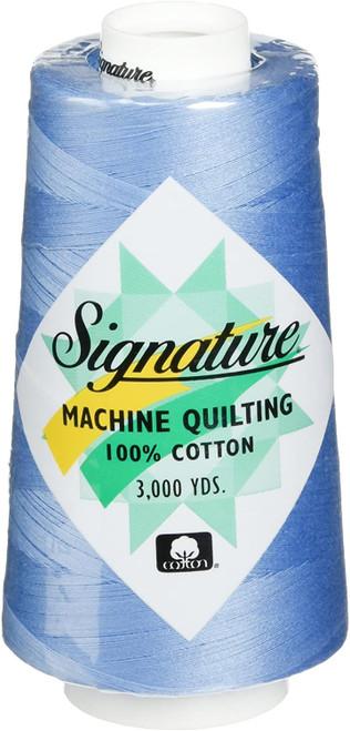 Signature40 - Cobalt Blue - F203 - Cone - 3000 Yds - 100% Cotton Quilting Thread
