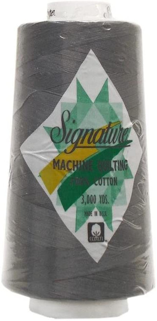Signature40 - Dolphin - 032 - Cone - 3000 Yds - 100% Cotton Quilting Thread