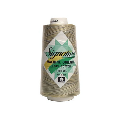 Signature40 - French Country - M17 - Cone - 3000 Yds - 100% Variegated Cotton Quilting Thread