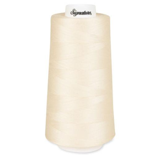 Signature40 - Parchment - 003 - Cone - 3000 Yds - 100% Cotton Quilting Thread