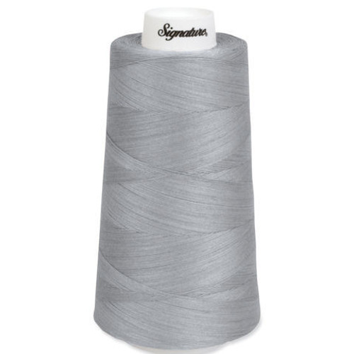 Signature40 - Pearl - 042 - Cone - 3000 Yds - 100% Cotton Quilting Thread