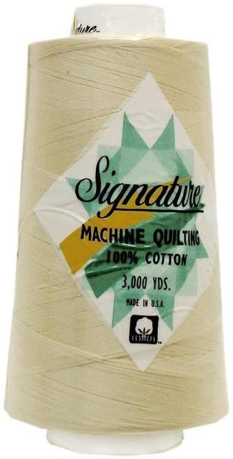 Signature40 - Sand Dollar - 008 - Cone - 3000 Yds - 100% Cotton Quilting Thread
