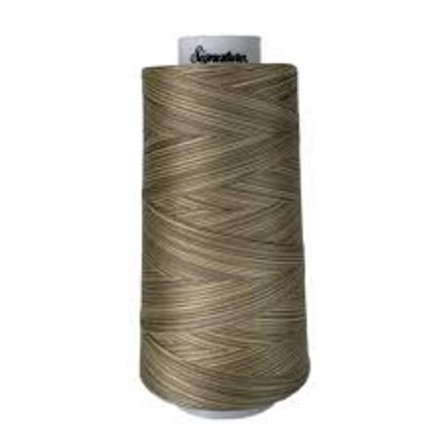 Signature40 - Sand Dunes - M08 - Cone - 3000 Yds - 100% Variegated Cotton Quilting Thread