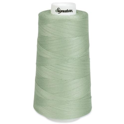 Signature40 - Seafoam - 494 - Cone - 3000 Yds - 100% Cotton Quilting Thread