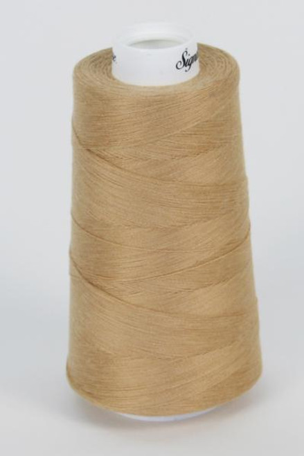 Signature40 - Wheat - 089 - Cone - 3000 Yds - 100% Cotton Quilting Thread