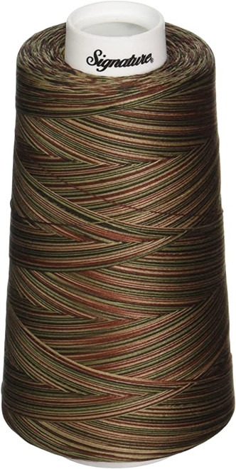 Signature40 - Woodlands - M03 - Cone - 3000 Yds - 100% Variegated Cotton Quilting Thread