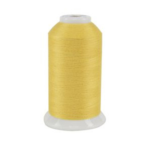 So Fine! #50 - 420 - Daffodil - Cone - 3280 yds - 3-ply Polyester Lint-free Quilting Thread