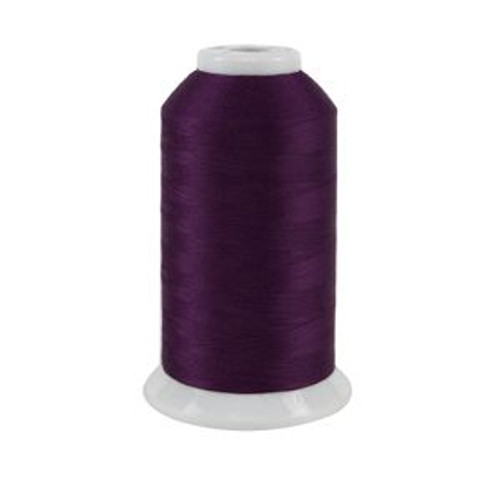 So Fine! #50 - 441 - Purple Iris - Cone - 3280 yds - 3-ply Polyester Lint-free Quilting Thread