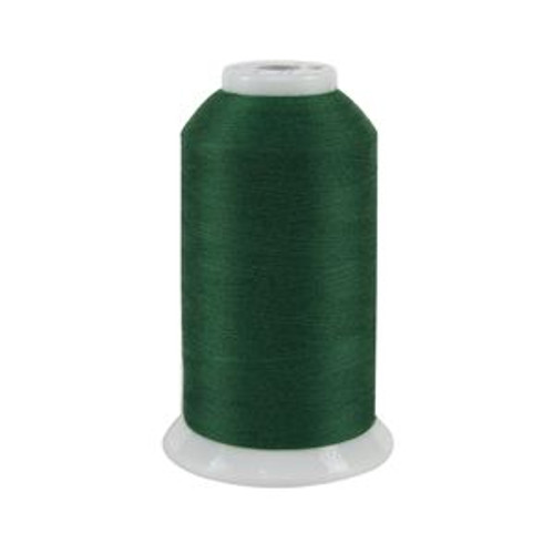 So Fine! #50 - 444 - Evergreen - Cone - 3280 yds - 3-ply Polyester Lint-free Quilting Thread