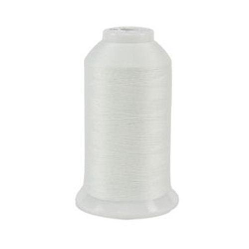 So Fine! #50 - 451 - Blizzard - Cone - 3280 yds - 3-ply Polyester Lint-free Quilting Thread