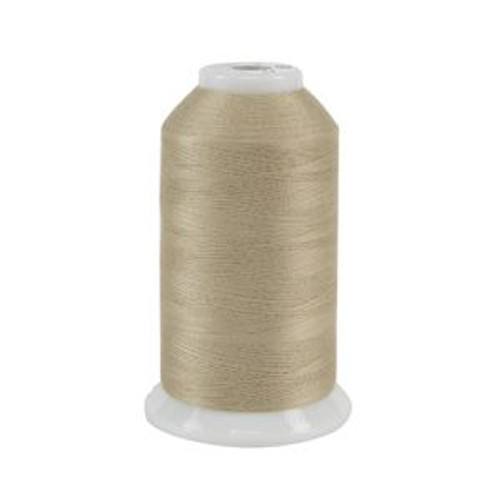 So Fine! #50 - 452 - Bone - Cone - 3280 yds - 3-ply Polyester Lint-free Quilting Thread