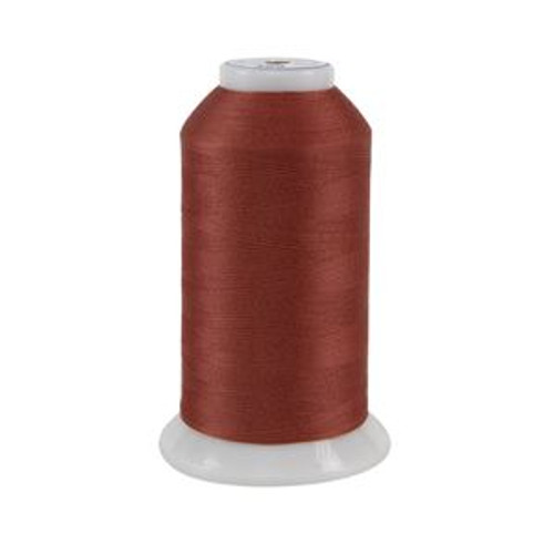 So Fine! #50 - 469 - Red Fox - Cone - 3280 yds - 3-ply Polyester Lint-free Quilting Thread