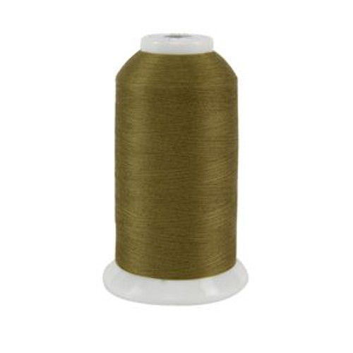 So Fine! #50 - 516 - Gondola Gold - Cone - 3280 yds - 3-ply Polyester Lint-free Quilting Thread