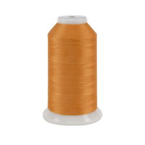 So Fine! #50 - 532 - Orange Julius - Cone - 3280 yds - 3-ply Polyester Lint-free Quilting Thread