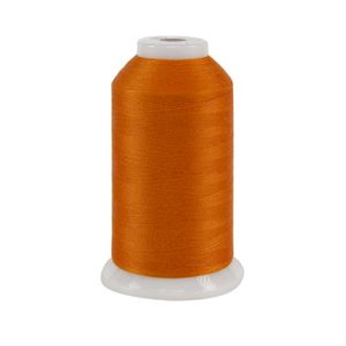 So Fine! #50 - 533 - Real Orange - Cone - 3280 yds - 3-ply Polyester Lint-free Quilting Thread