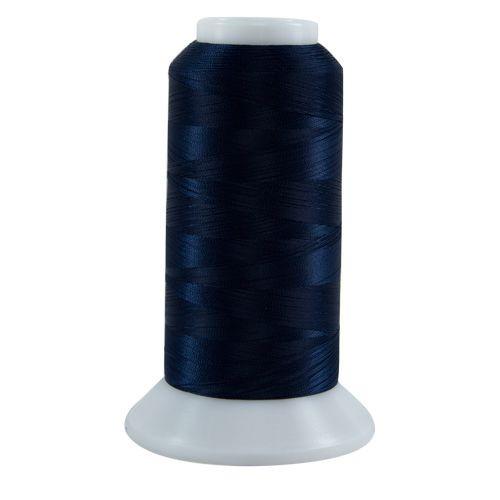 Bottom Line - 609 - Dark Blue - Cone - 3000 yds - 60 wt. Polyester Applique & Quilting Thread