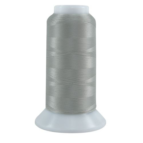 Bottom Line - 623 - Silver - Cone - 3000 yds - 60 wt. Polyester Applique & Quilting Thread
