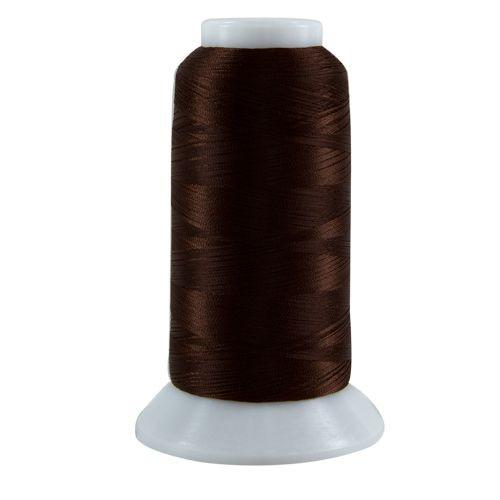 Bottom Line - 648 - Dark Brown - Cone  - 3000 yds - 60 wt. Polyester Applique & Quilting Thread
