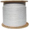 White Wire Center Rope Spool