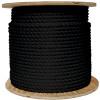 Black Wire Center Rope Spool