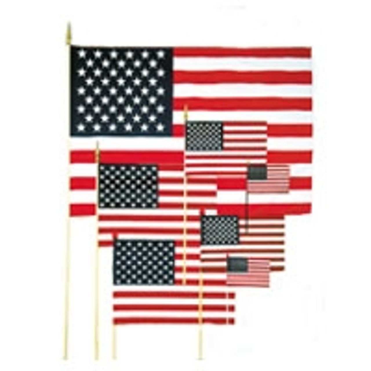 Valley Forge Valprin 16x24 Inch Polyester Stick Flag